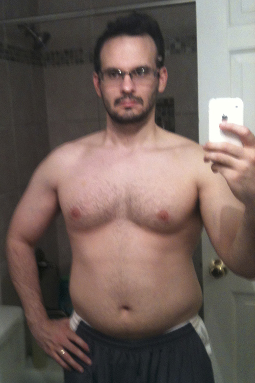 Roly-P90X-Transformation-Day-1