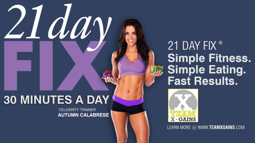 21 DAY FIX – SIMPLE, FAST, AMAZING RESULTS