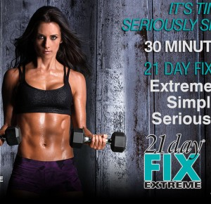 21 DAY FIX EXTREME - GET SERIOUSLY SHREDDED