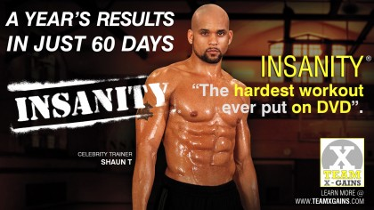 INSANITY – A YEAR'S RESULTS IN 60 DAYS