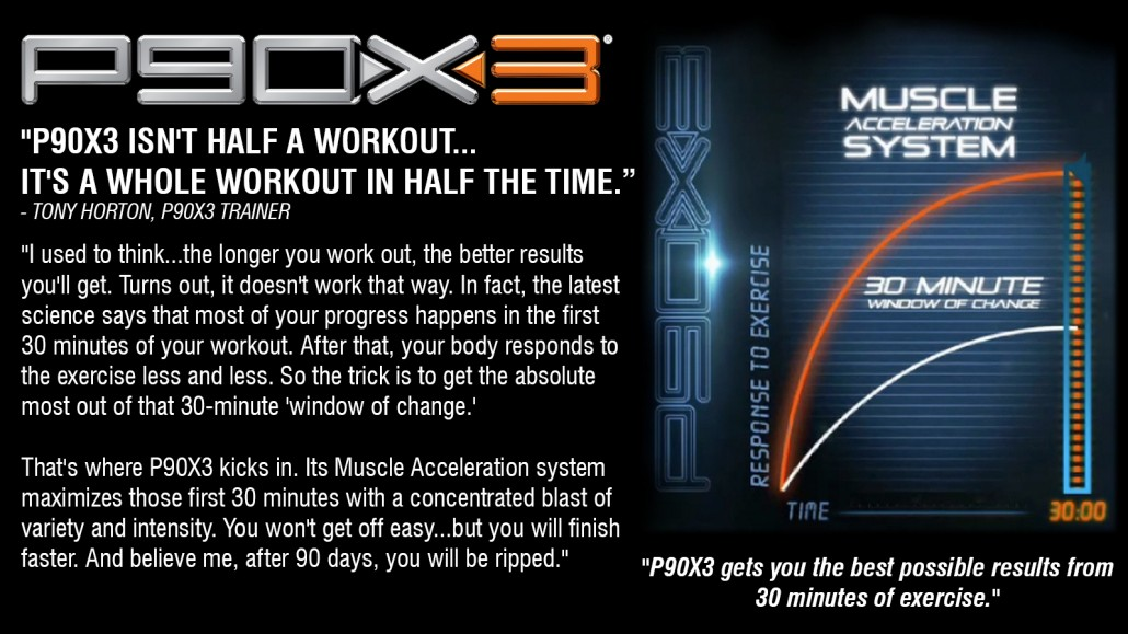 P90X3 Tony Horton New Workout