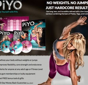 PiYO - STRENGTH, CARDIO, FLEXIBILITY