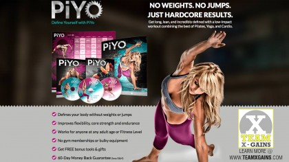PiYO – STRENGTH, CARDIO, FLEXIBILITY