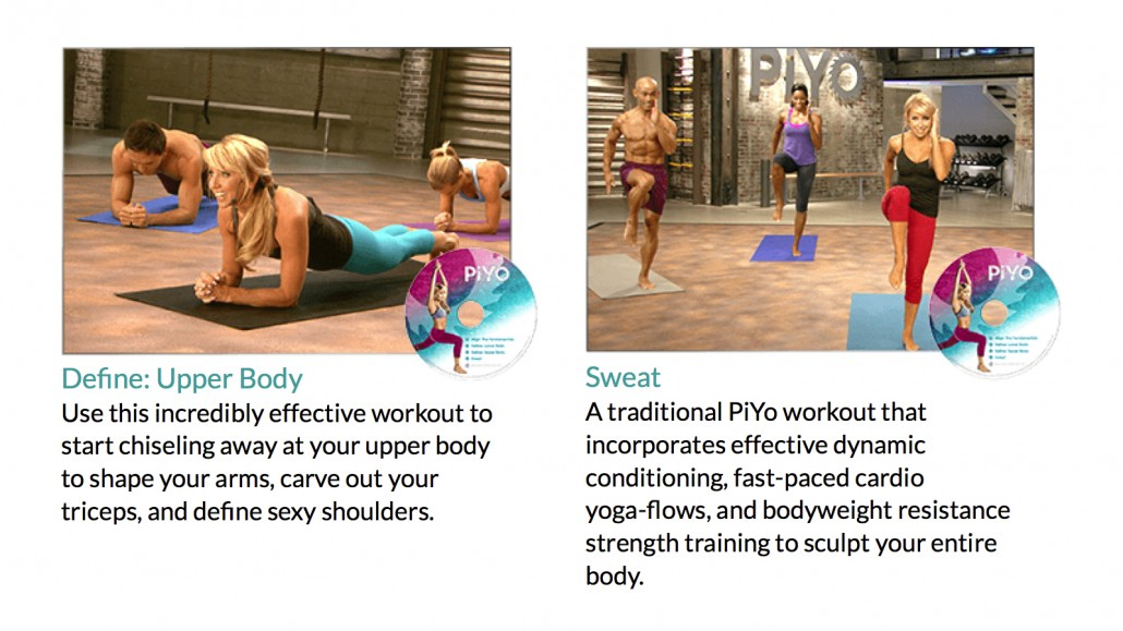 PiYo Chalene Johnson Workout